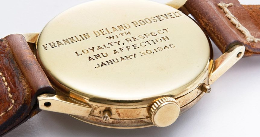 engraving watches