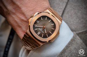 2. Patek Philippe Nautilus Rose Gold